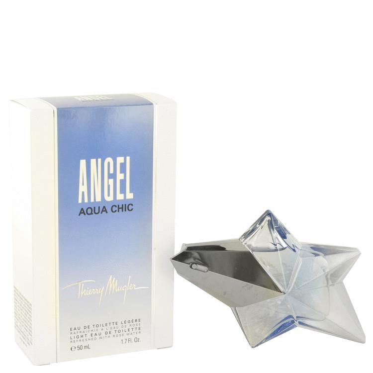 Angel Aqua Chic Light Eau De Toilette Spray By Thierry Mugler - American Beauty and Care Deals — abcdealstores