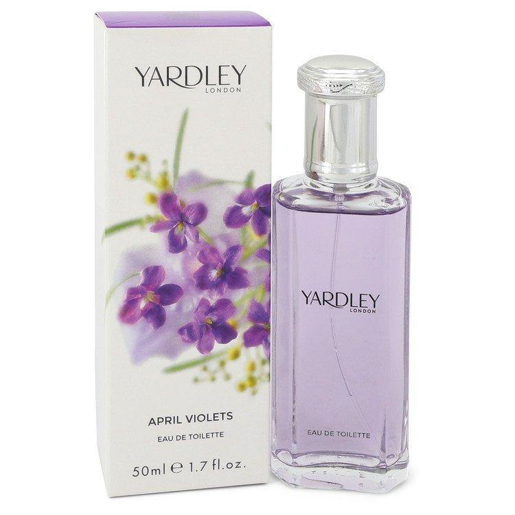 April Violets Eau De Toilette Spray By Yardley London