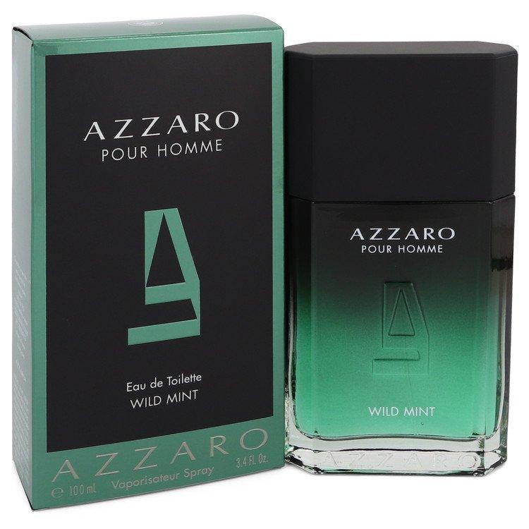 Azzaro Wild Mint Eau De Toilette Spray By Azzaro - American Beauty and Care Deals — abcdealstores