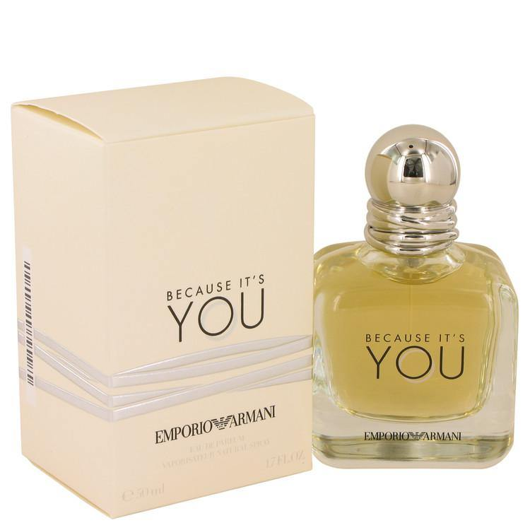 Because It's You Eau De Parfum Spray By Giorgio Armani - American Beauty and Care Deals — abcdealstores