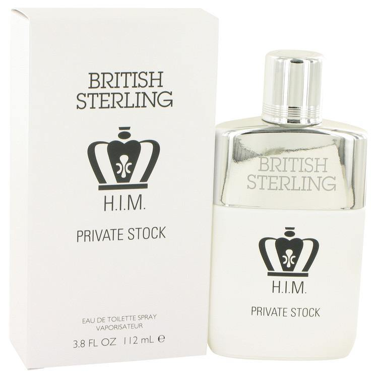British Sterling Him Private Stock Eau De Toilette Spray By Dana