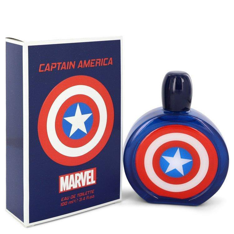 Captain America Eau De Toilette Spray By Marvel - American Beauty and Care Deals — abcdealstores