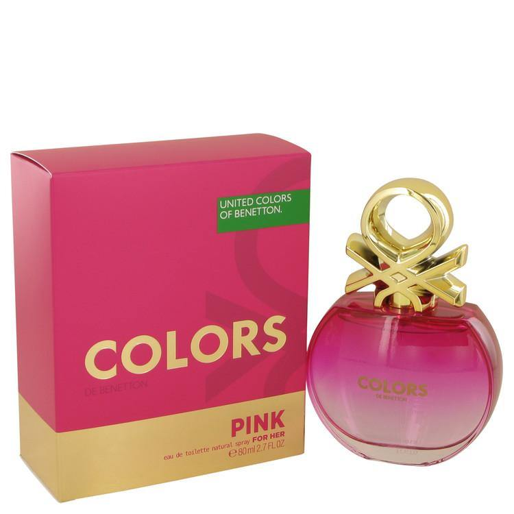 Colors Pink Eau De Toilette Spray By Benetton - American Beauty and Care Deals — abcdealstores