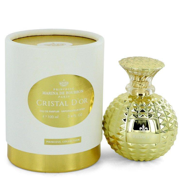 Cristal D'or Eau De Parfum Spray By Marina De Bourbon