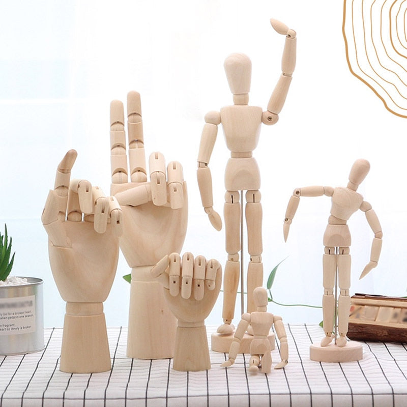 Flexible Mini Wooden Manikin