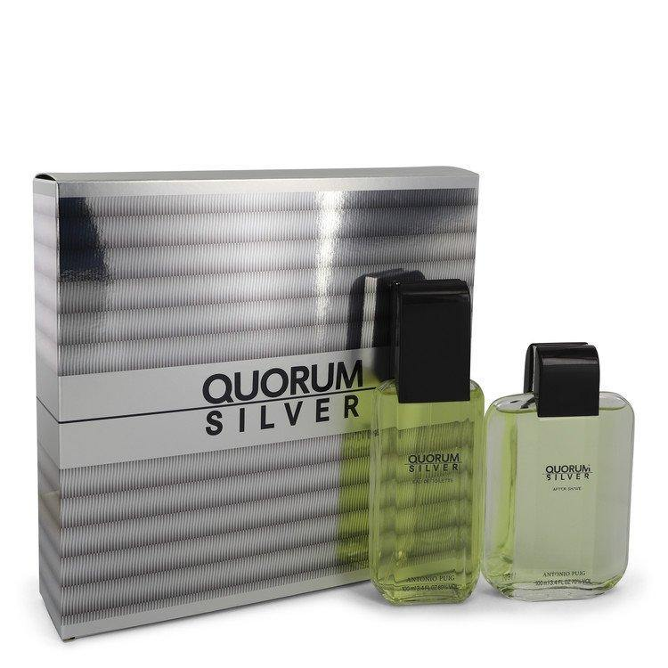 Quorum Silver Gift Set By Puig - American Beauty and Care Deals — abcdealstores