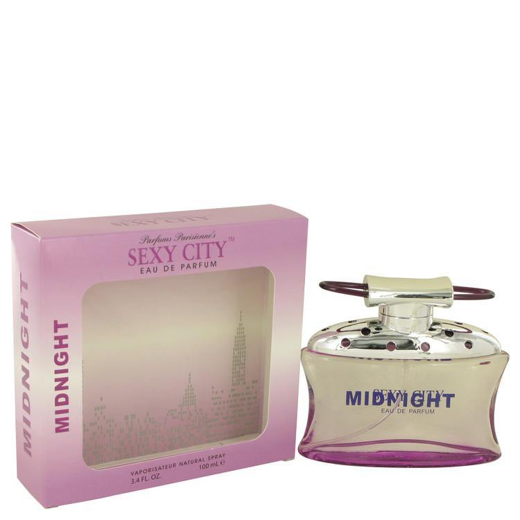 Sexy City Midnight Eau De Parfum Spray By Parfums Parisienne - American Beauty and Care Deals — abcdealstores