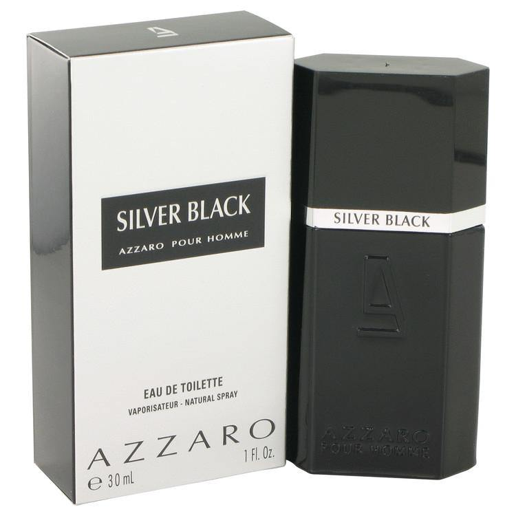 Silver Black Eau De Toilette Spray By Azzaro - American Beauty and Care Deals — abcdealstores