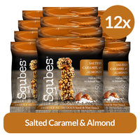 Bite size Snacks - perfect for lunches! 12 x 30g Salted Caramel & Almonds