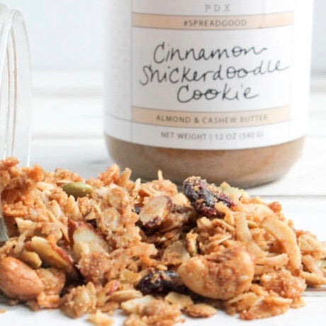 Snickerdoodle Almond Butter Granola