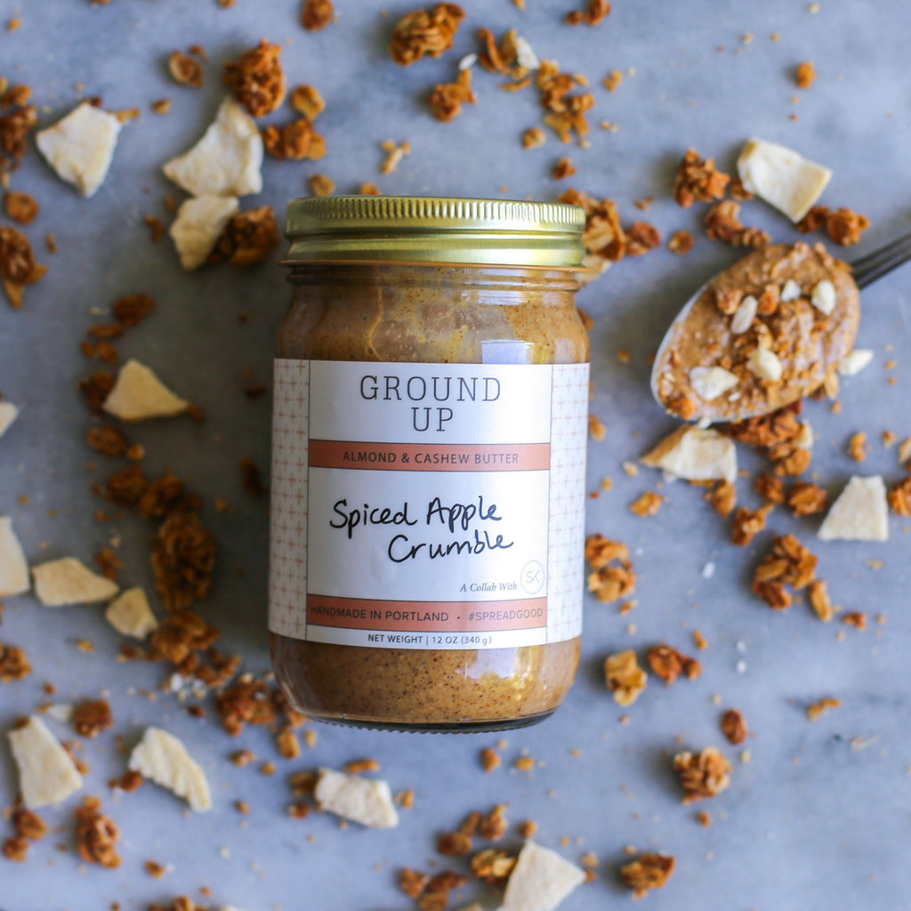 Spiced Apple Crumble Almond Butter - Ground Up x Sprouted Kitchen