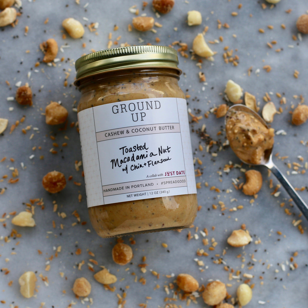 Toasted Macadamia Nut w/ Chia + Flaxseed *LIMITED EDITION*