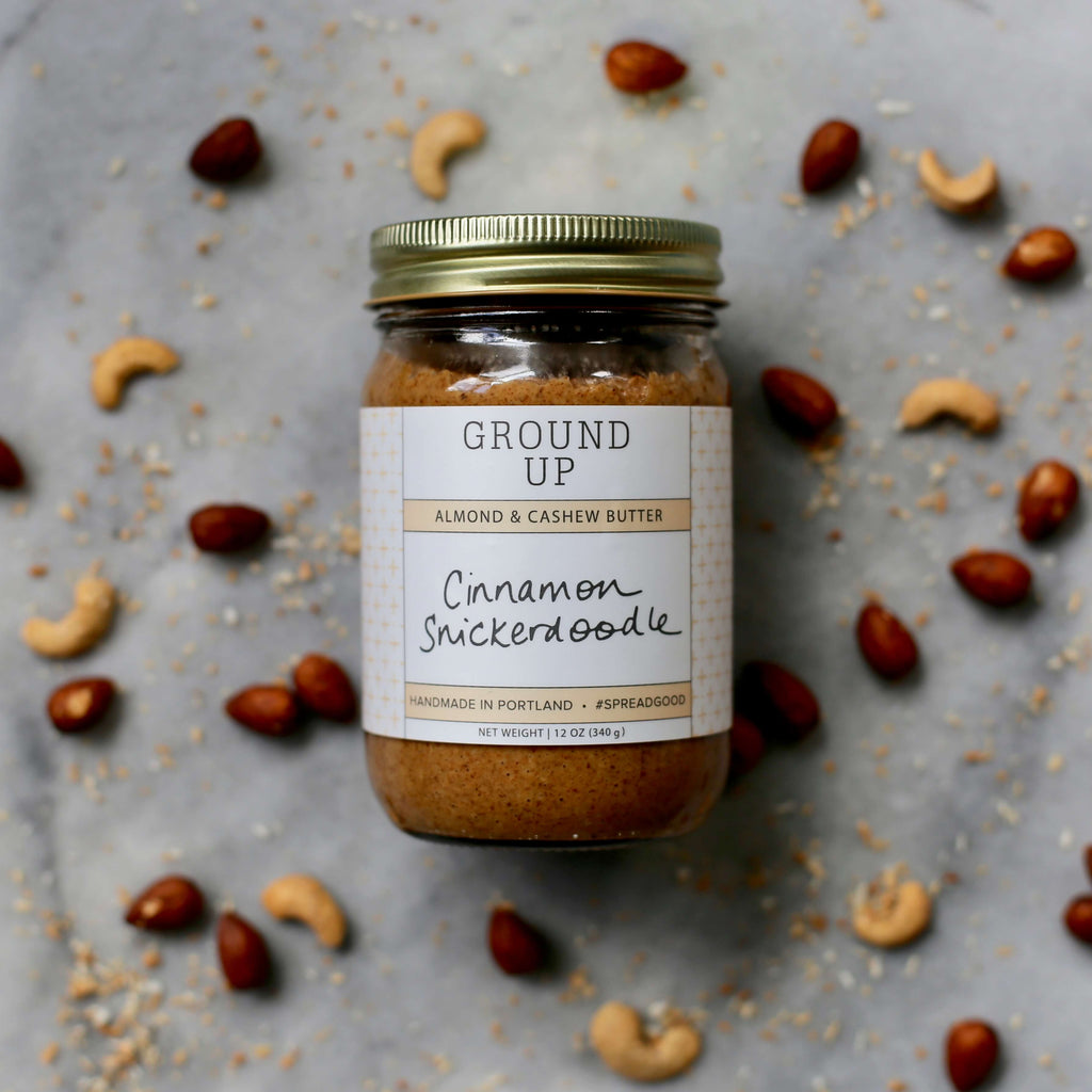 Cinnamon Snickerdoodle Almond Cashew Butter