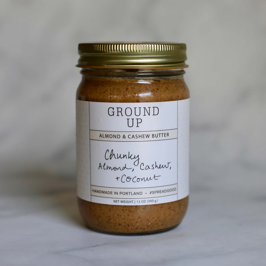 Chunky Almond, Cashew + Coconut Nut Butter