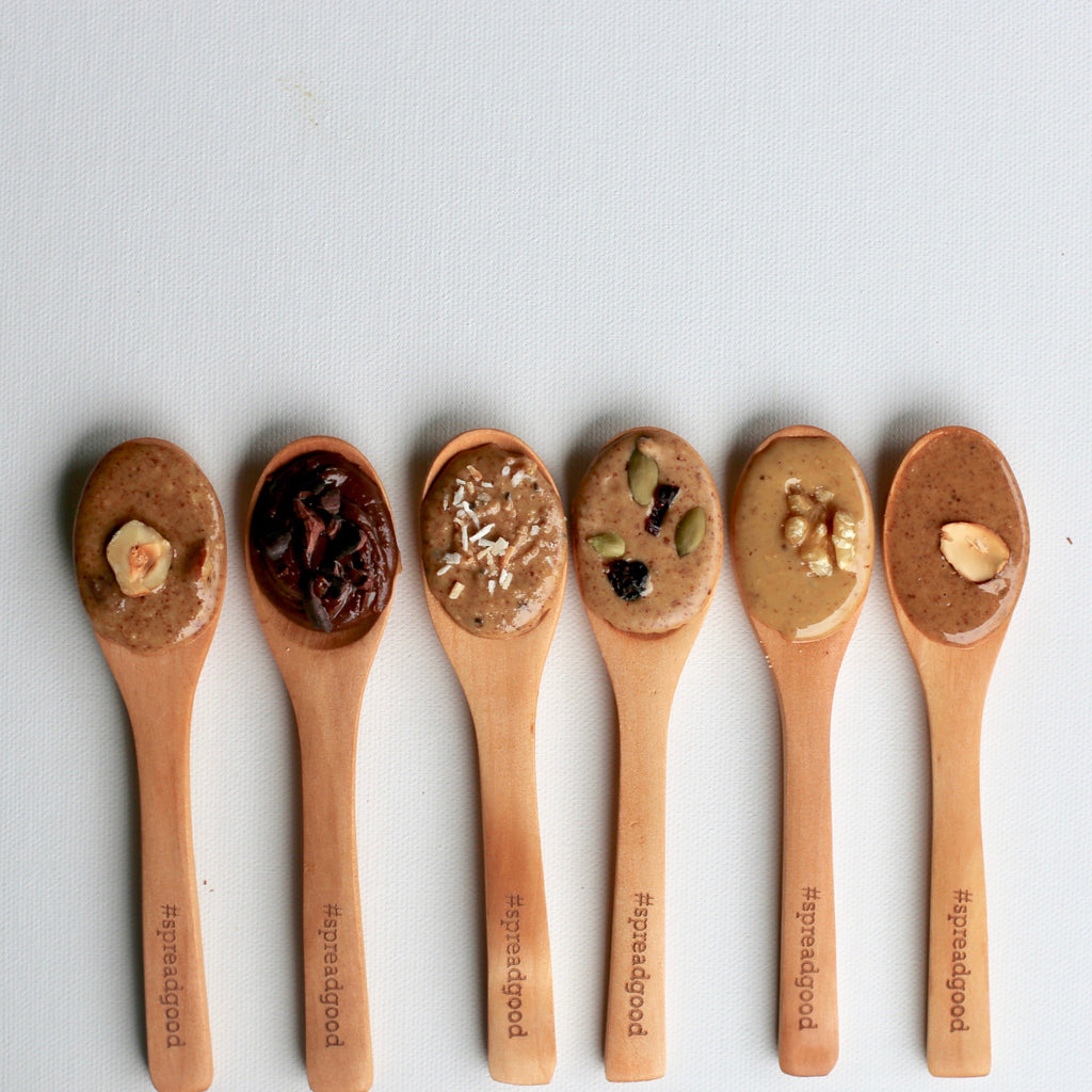 """Spread Good"" Wooden Spoon"