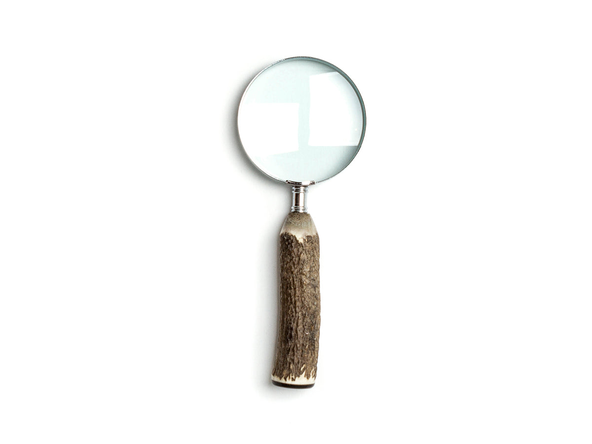 Stag Handle Magnifying Glass