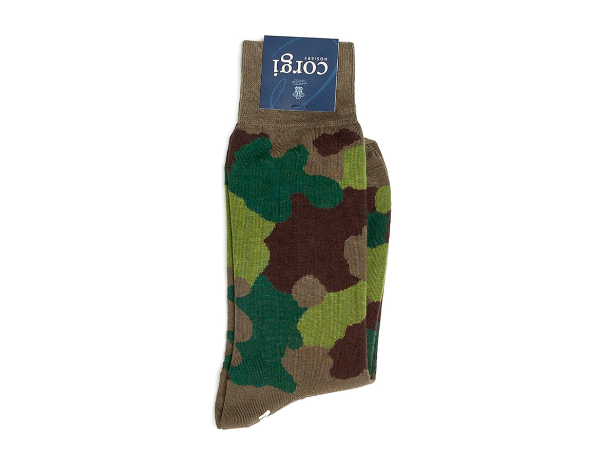 Camouflage Socks Classic Green