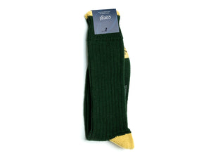 Classic Soft Cotton Socks Green