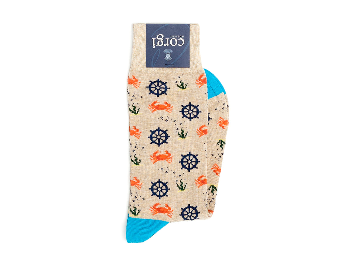 Nautical Logo Socks