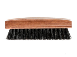 Pig Bristle Polishing Brush Black