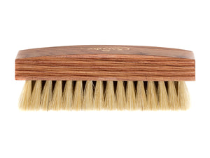 Pig Bristle Polishing Brush Natural