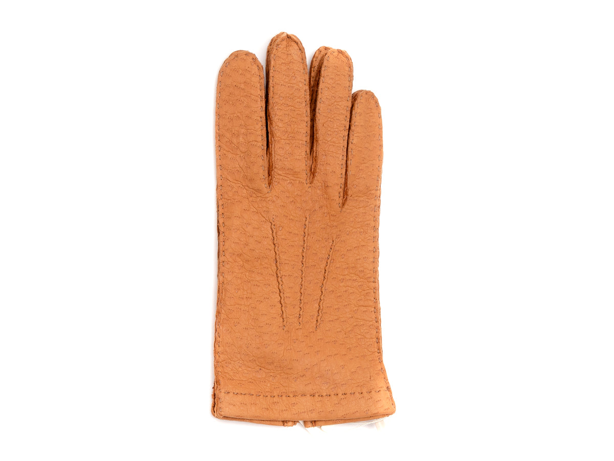 Unlined Pecary Gloves Cork