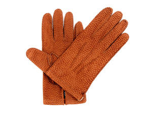 Unlined Carpincho Gloves Tobacco
