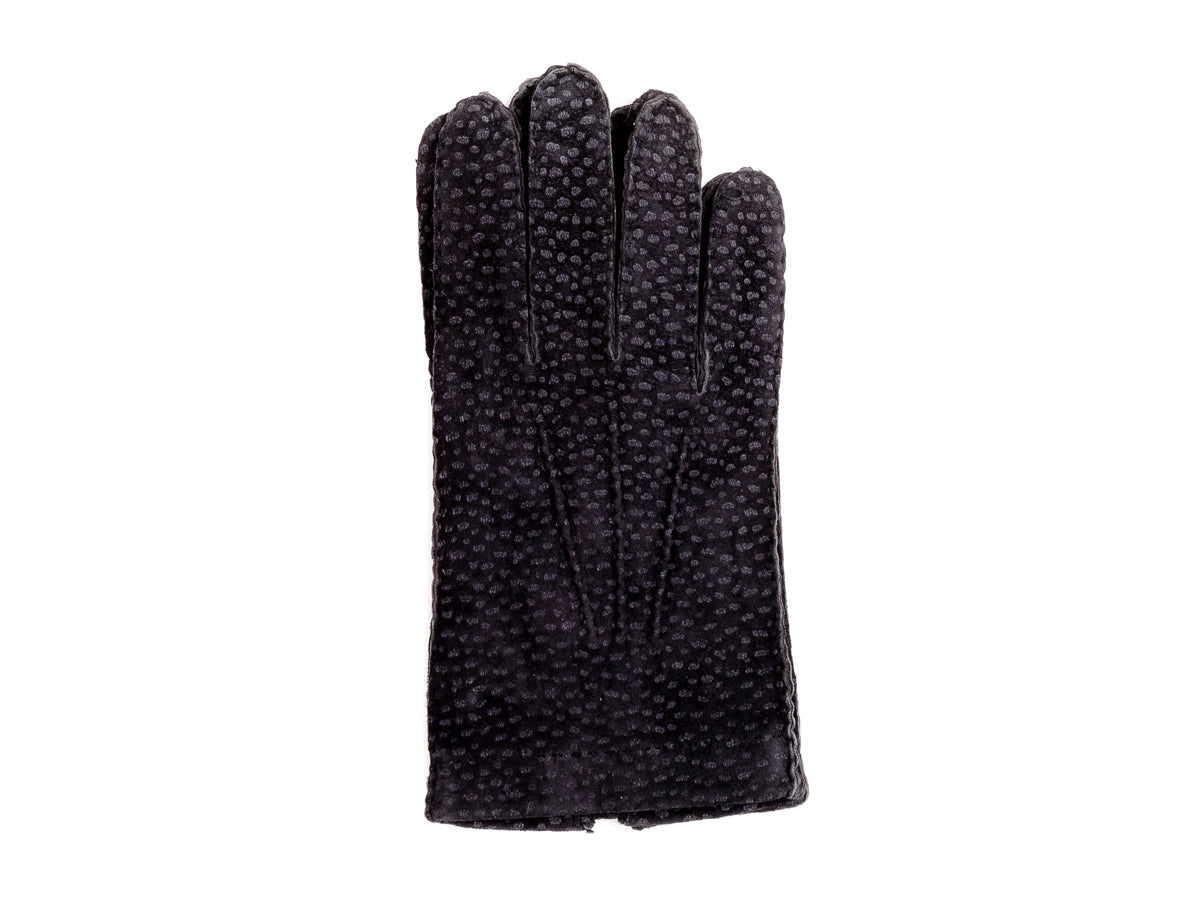 Unlined Carpincho Gloves Navy