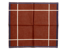 Load image into Gallery viewer, Tobacco Socotra Pocket Square
