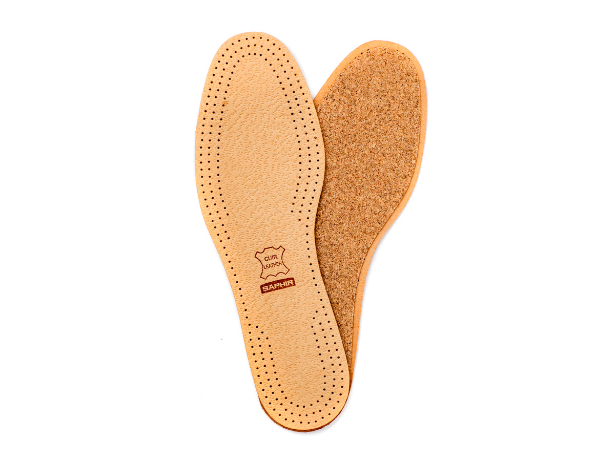 Leather & Cork Insoles