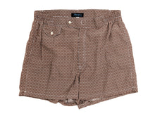 Load image into Gallery viewer, Swimming Trunks Floral Brown