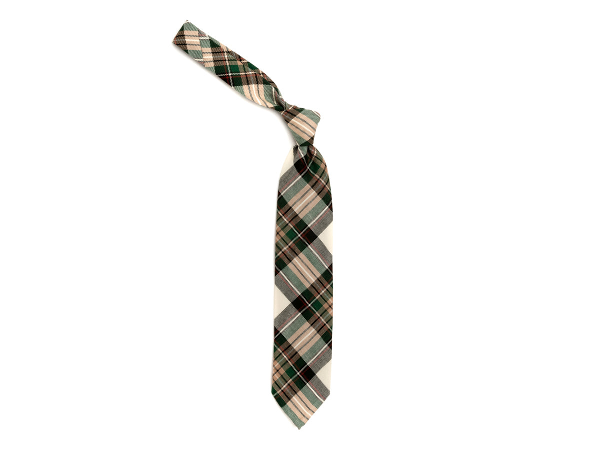 Wool Tie Tartan Light