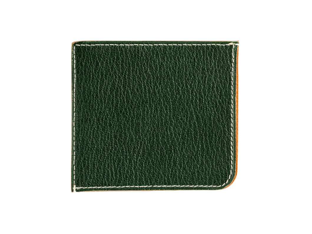 Card Wallet Four Slot Green