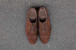 Canterbury Coffee Suede