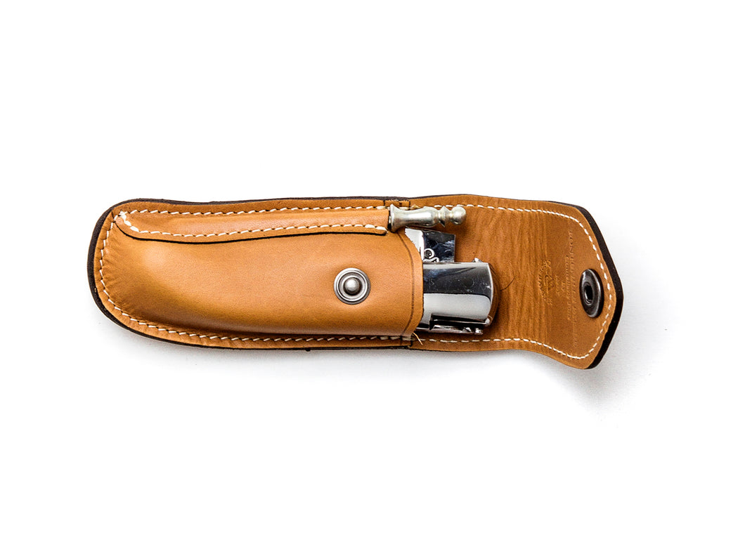Traditional Leather Sheath for Sport Tan