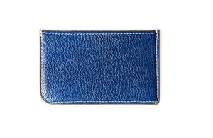 Card Wallet Two Slot Blue