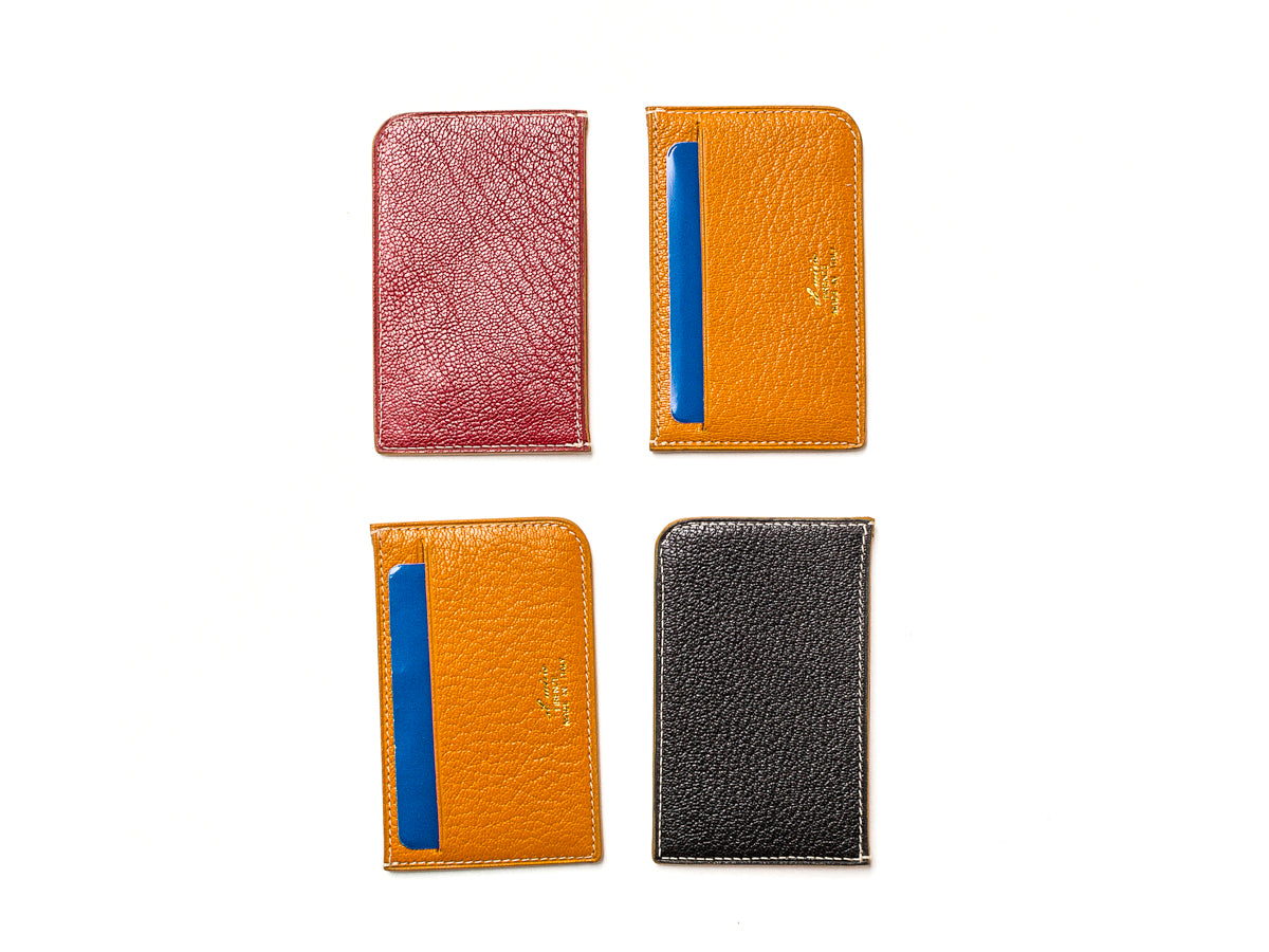 Card Wallet Two Slot Black