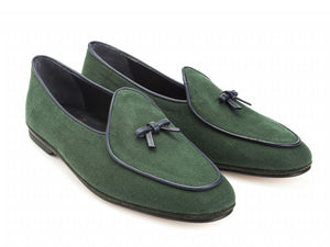 Marphy Loafer Limited Edition Green Linen