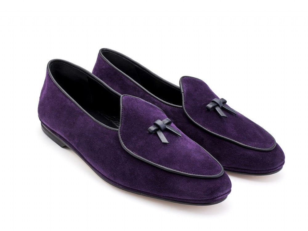 Marphy Loafer Purple Velour