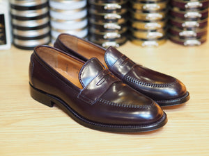 Penny Loafer Color 8 Shell Cordovan