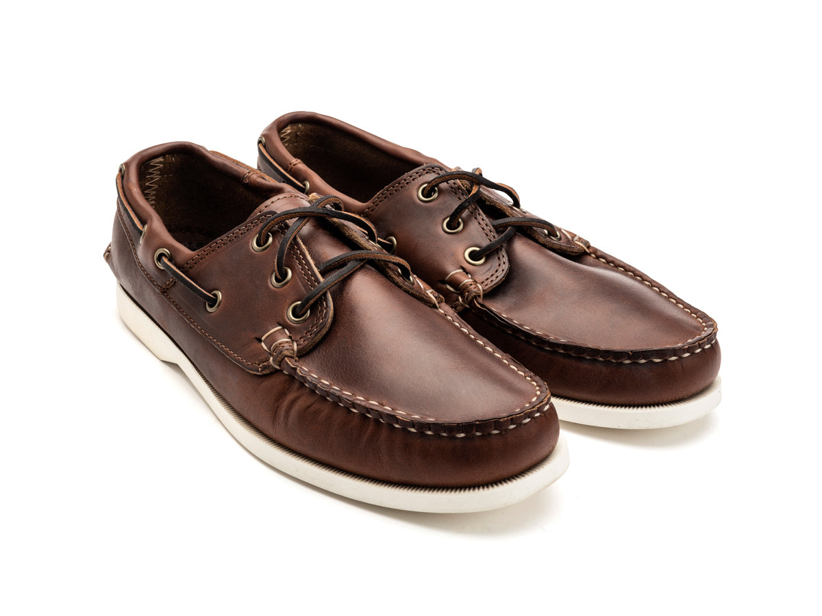 Classic Boat Shoe Unlined Brown Chromexcel