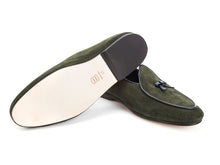 Load image into Gallery viewer, Marphy Loafer Green Velour
