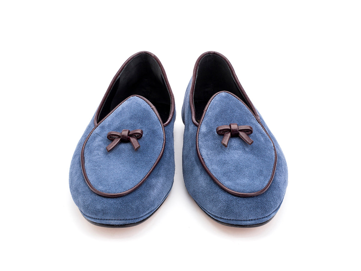 Marphy Loafer Light Navy Velour