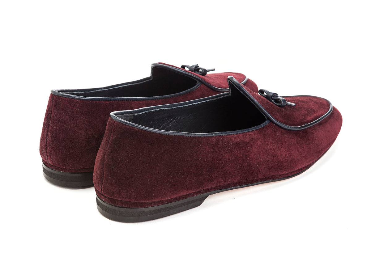 Marphy Loafer Red Velour