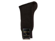Load image into Gallery viewer, Calf Length Wool Socks Black