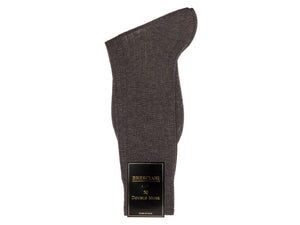 Calf Length Cotton Socks Grey