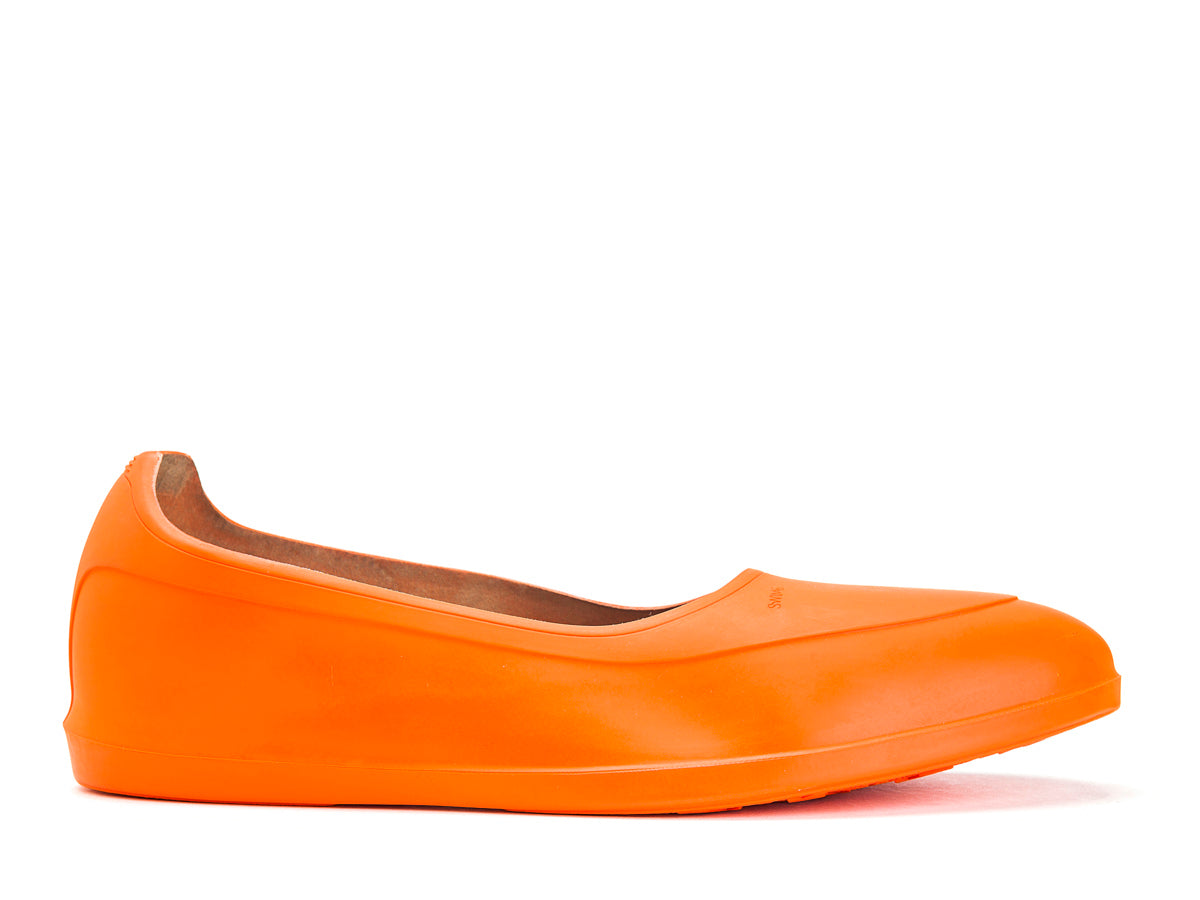 Galosh Overshoe Orange