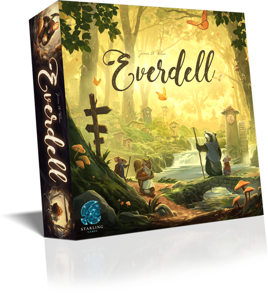 Unboxing Everdell et l'extension Pearlbook