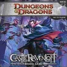 Dungeons & Dragons Board game : Castle Ravenloft
