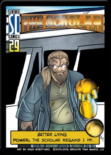 Sentinels Of The Multiverse Extension : The Scholar (Hero)